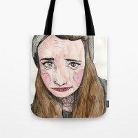 weird Tote Bags featuring Weird. by Nova