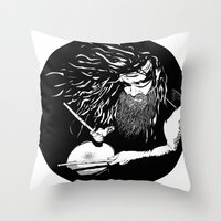 lee pace Throw Pillows featuring ·Mr. pace by Gonzo