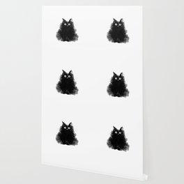 Duster - Black Cat Drawing Wallpaper
