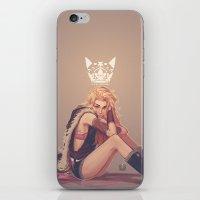 regina mills iPhone & iPod Skins featuring Vivat Regina! by Caleb Thomas