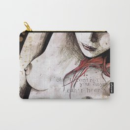 Rotten Apple (nude redhead girl, erotic graffiti portrait) Carry-All Pouch