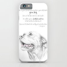 Murphy :: Loyalty [with Quote] Slim Case iPhone 6s