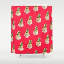 Grumpy Celeriac Shower Curtain