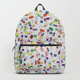 Medical Capsule Pharmacology Design Backpack