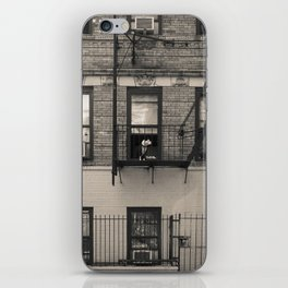 Portrait of a Dog - Urban City Landscape Photography iPhone Skin