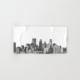 Minneapolis Minnesota Hand & Bath Towel