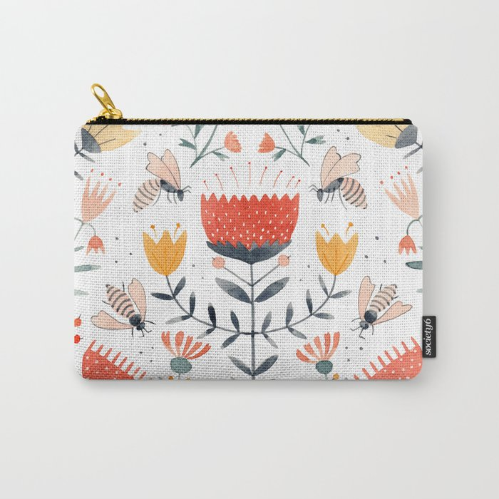 Bee Well Carry-All Pouch