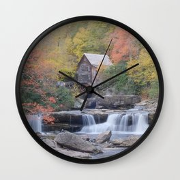 Almost Heaven Grist Mill Wall Clock