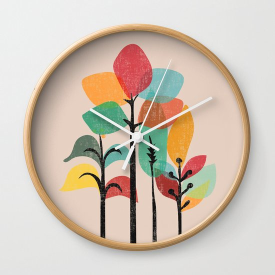 Tropical Groove Wall Clock
