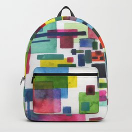 abstract city Backpack