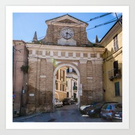 Porta Pescara, New Arch Art Print