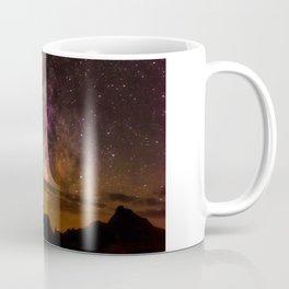 Milky Way over the Badlands South Dekota Coffee Mug