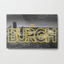 Pittsburgh Skyline Mt. Washington Metal Print