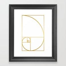 That's Golden I Framed Art Print