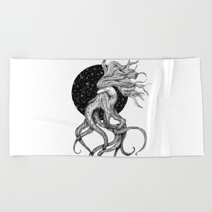 Young Ursula Beach Towel