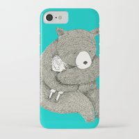 hug iPhone & iPod Cases featuring Hug by Maureen Poignonec