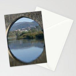Portugal, the Costa Verde, Ponte de Lima bridge Stationery Cards