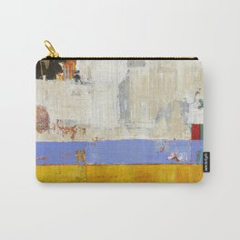 Amenity Abstract Landscape Yellow Modern Shawn McNulty Carry-All Pouch