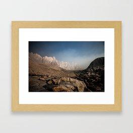 Smokey Mountain Framed Art Print