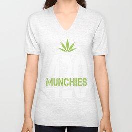 420 Munchies Unisex V-Neck