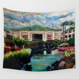 Kauai Grand Hyatt Resort Wall Tapestry