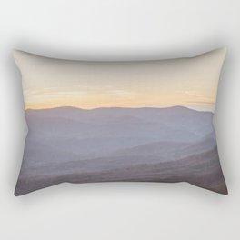 North Georgia Mountains Rectangular Pillow
