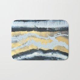 VITAMIN | Abstract acrylic art by Natalie Burnett Art Bath Mat