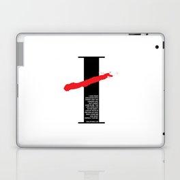 No Longer I. Galatians 2:20 Laptop & iPad Skin