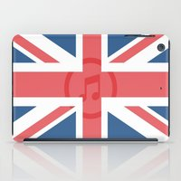 england iPad Cases featuring  England by XKbeth