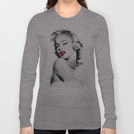 Marilyn - Blonde - Monroe - Pop Art Long Sleeve T-shirt