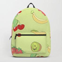 Fruit Pattern Backpack