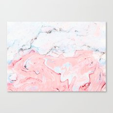Marble Love #society6 #decor #buyart Canvas Print