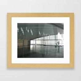 Una tranquila tarde de musica y luz Framed Art Print