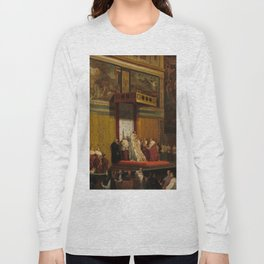 Pope Pius VII in the Sistine Chapel Oil Painting by Jean-Auguste-Dominique Ingres Long Sleeve T-shirt