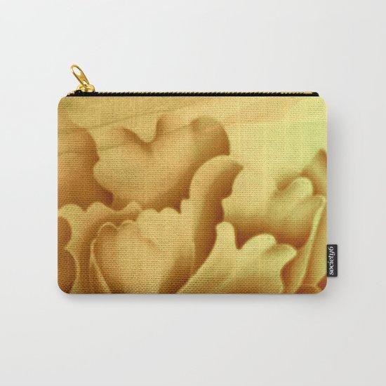 peach veiled flower Carry-All Pouch