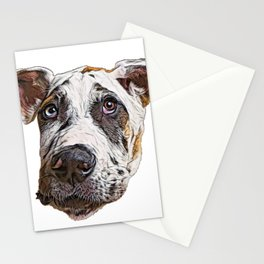 Dog Great Dane German breed domestic dog tallest Stationery Cards