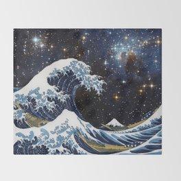Hokusai & LH95 Throw Blanket