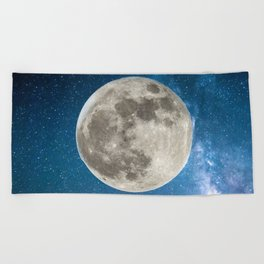 The beauty of the Moon Beach Towel