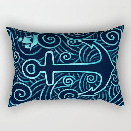 Into the Ocean Rectangular Pillow