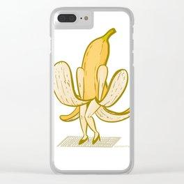 Banana Actress Clear iPhone Case
