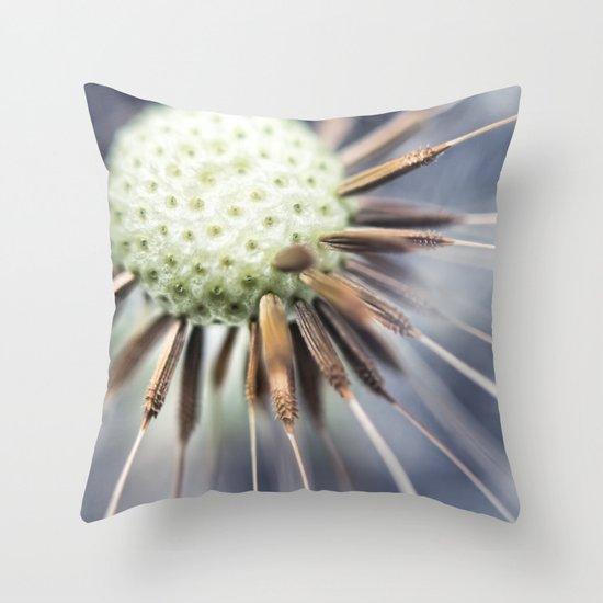 Dandelion fluff... 3 Throw Pillow