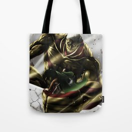 Armored Titan Tote Bag
