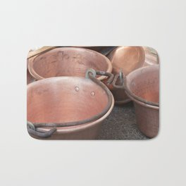 pot and pan Bath Mat