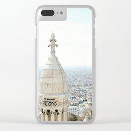 View of Paris from Sacré-Cœur Clear iPhone Case
