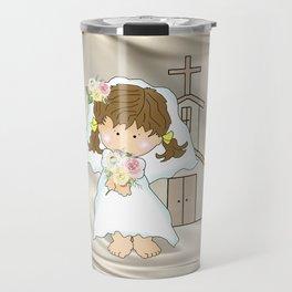 My Little Barefoot Bride Travel Mug
