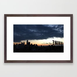 The Divine Lorraine Framed Art Print