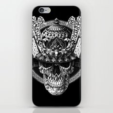 Samurai Skull iPhone & iPod Skin