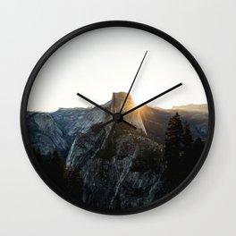 Beautiful Yosemite Wall Clock
