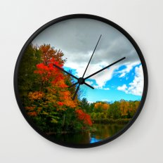Silver Lake Wall Clock
