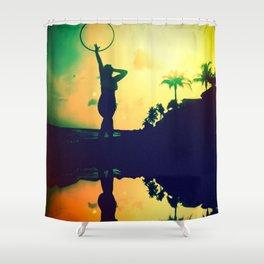 Paradise Sunset Shower Curtain